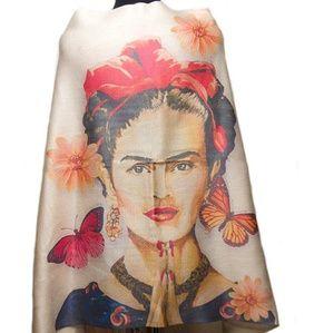 Frida Khalo shawl